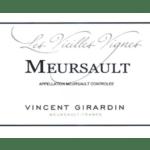 Vincen Girardin Meursault Vieilles Vignes 2016